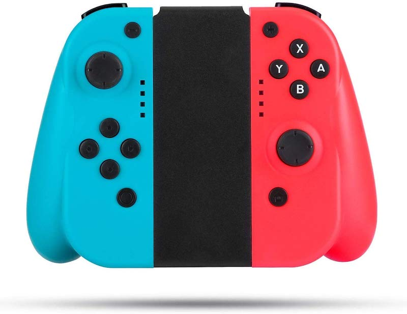 Ergonomic JoyCon replacements for the Nintendo Switch make older hands happier