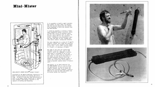"""""""Mist showers"""": a decadent shower that the planet can sustain"""