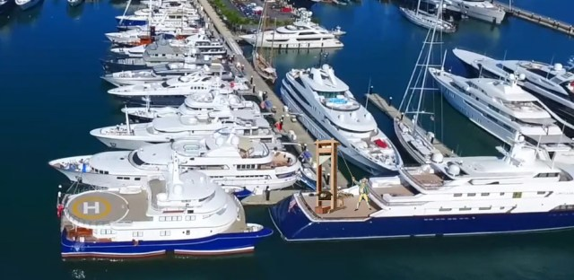 Trump's signature tax break for poor people went to subsidize a superyacht marina in Florida