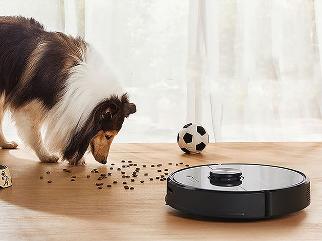 The robot vacuum can map your house with incredible accuracy