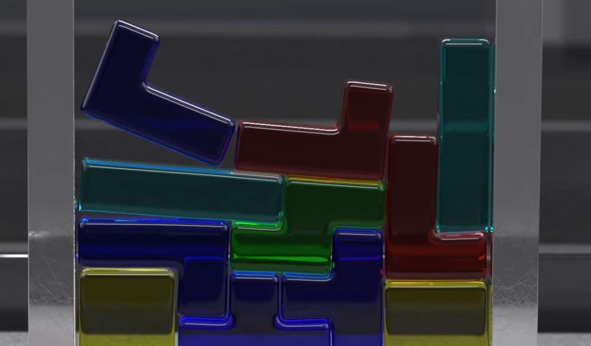 Gummi Tetris