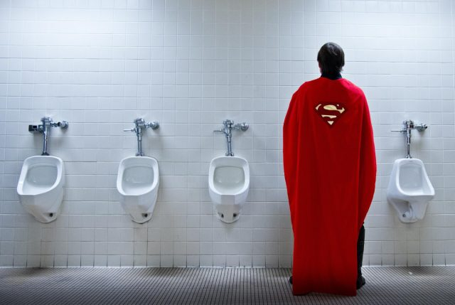 Why is the FBI protecting Superman's civilian identity?