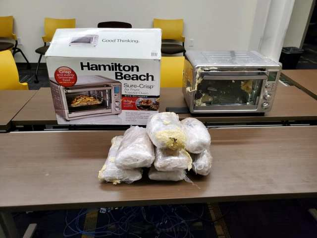Police seize 20 pounds of meth mailed inside of an air fryer to Kentucky gentleman