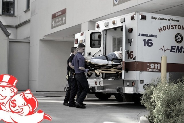 In any other industry, emergency medical billing would be considered fraudulent