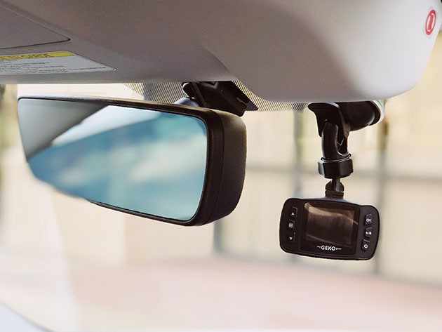 Save over 50% on this collision-detecting dash cam