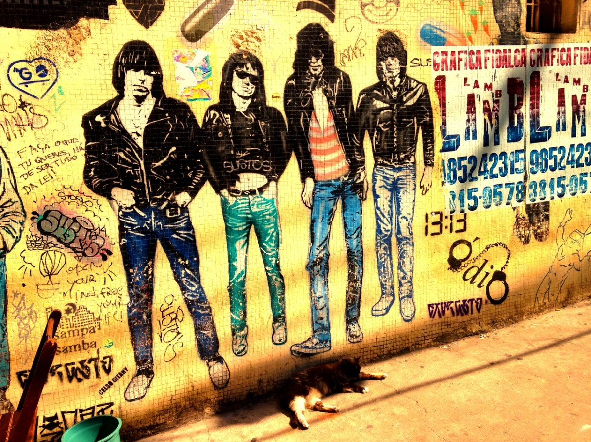 A new court battle over the Ramones' legacy goes back to a song about the KKK