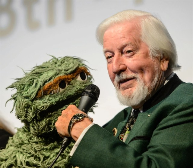 Puppeteer Caroll Spinney (Big Bird and Oscar the Grouch), RIP