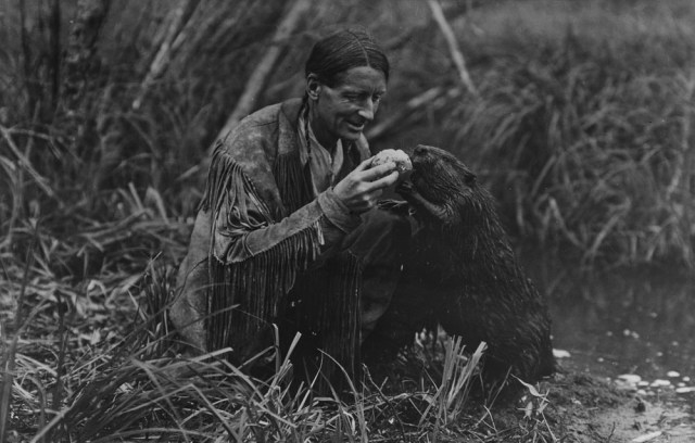 Grey Owl, the world's best-known conservationist in the 1930s, turned out not to be who he'd claimed