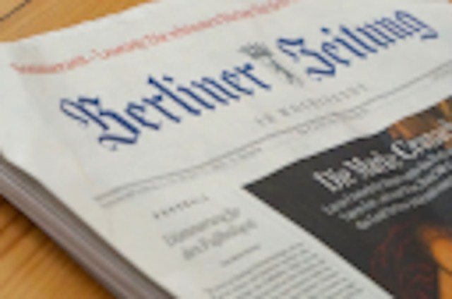 German proposal to control links to news stories: headlines, 3s of video, 128 pixel thumbnails