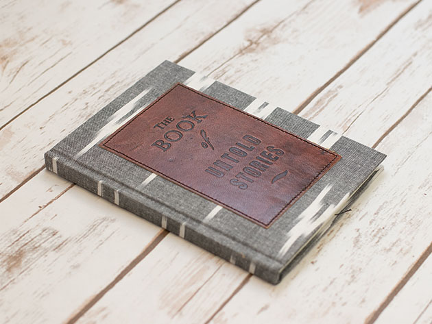 Relive the golden age of writing with these leather notebooks and journals