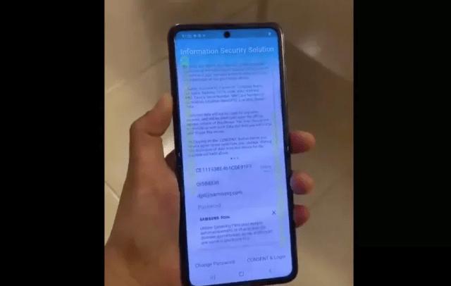 Samsung's folding Galaxy Z Flip revealed in 'leaked' video
