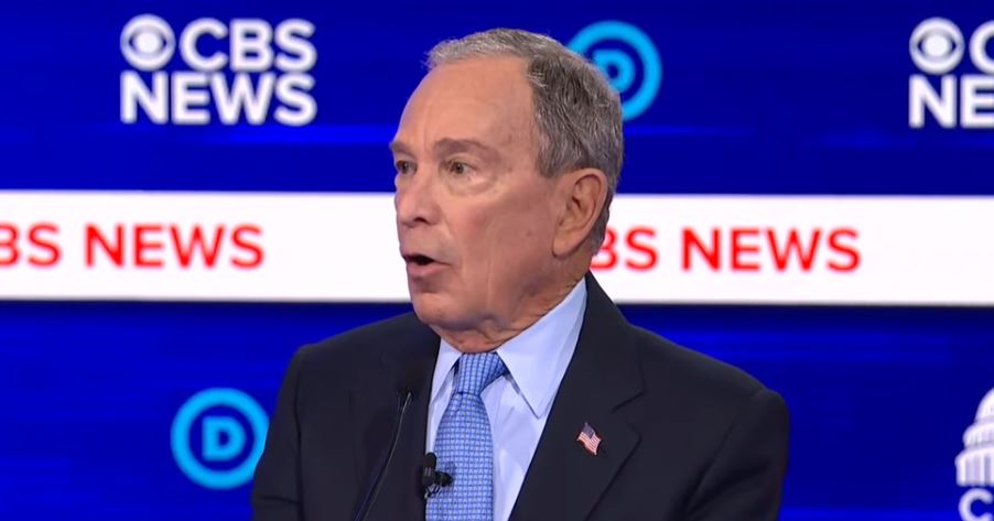 "At debate, billioniare Bloomberg says he ""bought"" 21 new Democrats in congress"