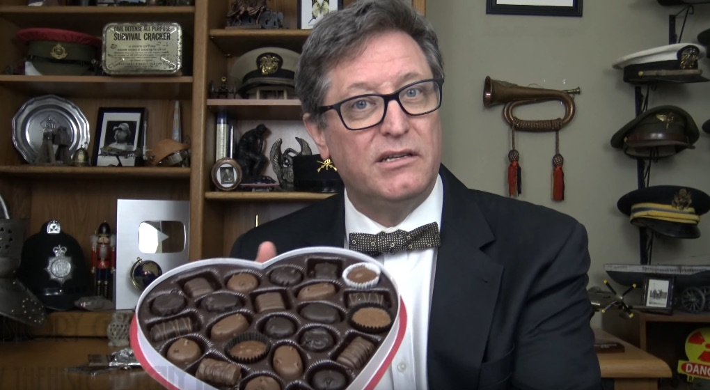 The History Guy explores our 5,000 year love affair with chocolate
