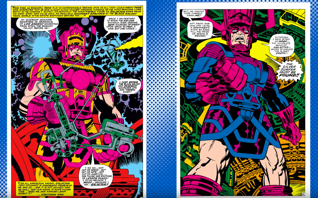 Fascinating video about comic book inker, Vince Colletta, the man some claim ruined Jack Kirby's art