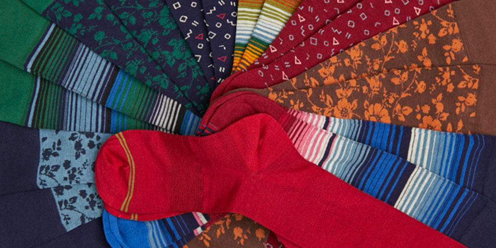 Upgrade your sock drawer with these all-season bamboo yarn socks