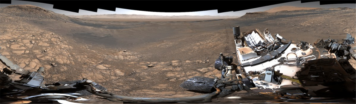 NASA's spectacular new 1.8 billion pixel panorama photo from Mars