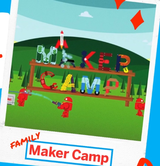 Here's something fun and productive to do with the kids: Make: launches annual Maker Camp