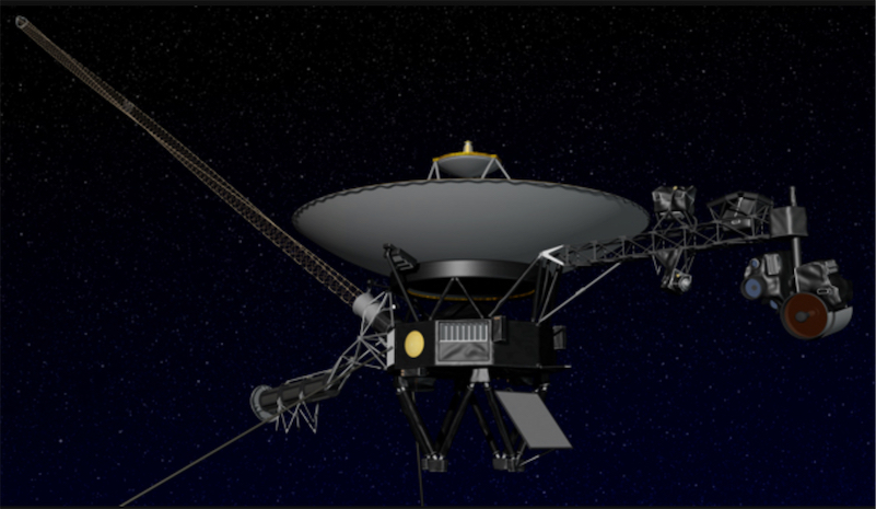 NASA won't be able to talk to Voyager 2 for the next year