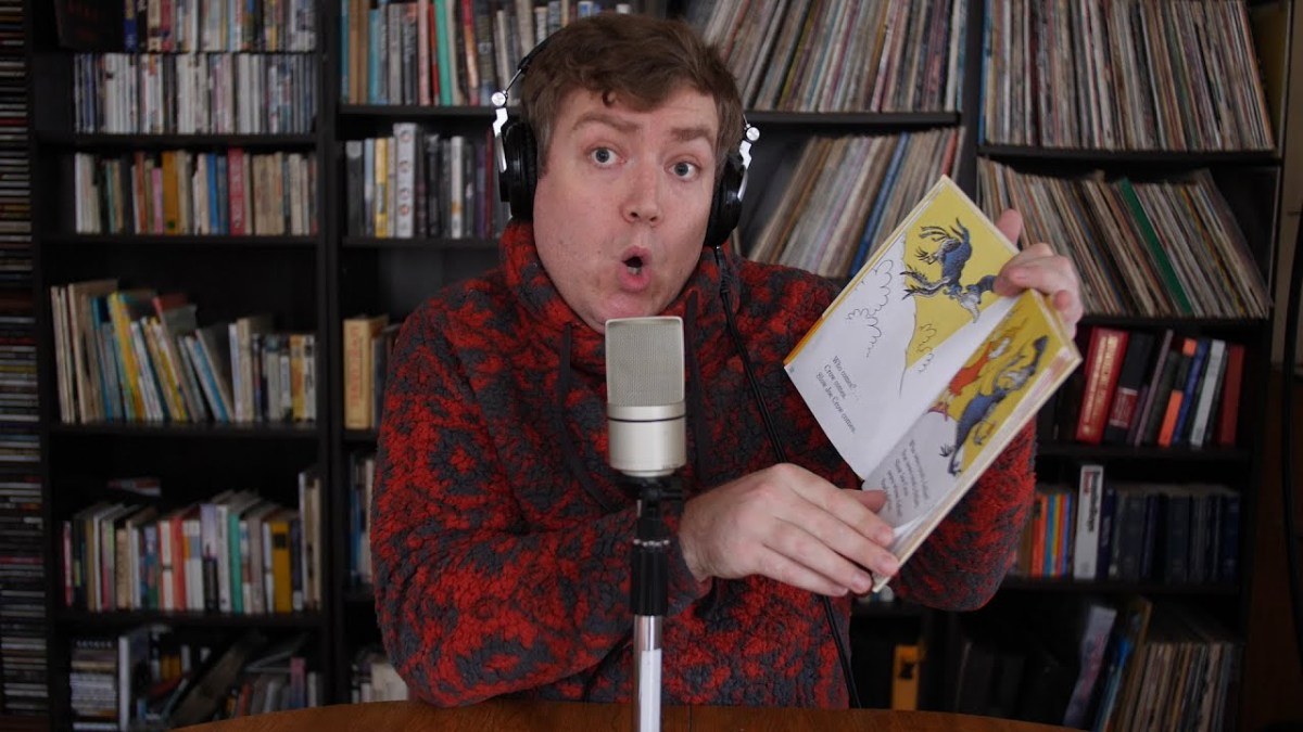Delightful Dr. Seuss rapping over Dr. Dre beats
