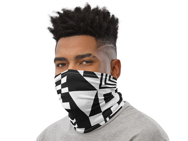 If you need to wear a face covering, it may as well be a cool one