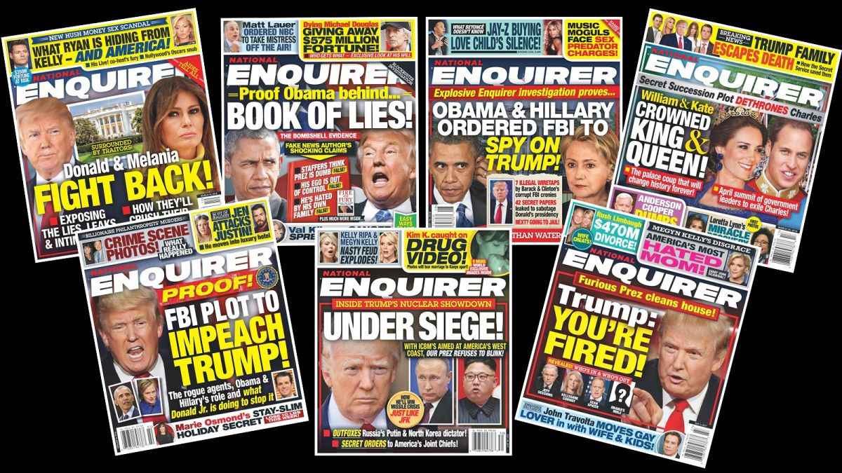 Hollywood hypocrites tearing America apart and rioters battling to destroy the United States, in this week's dubious tabloids