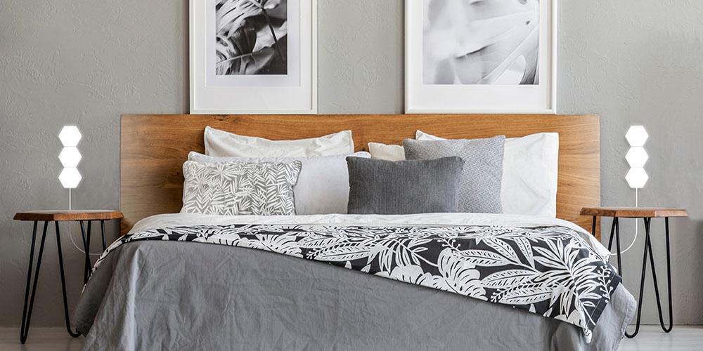 KESS InHouse Michelle Drew Cubic Geek Chic Queen Comforter 88 X 88