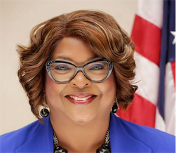 Ferguson, Missouri elected its first black mayor who is also the first female mayor
