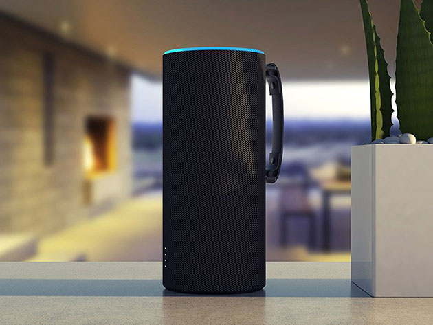 The SkyTote Battery Sleeve for your Amazon Echo sets Alexa free