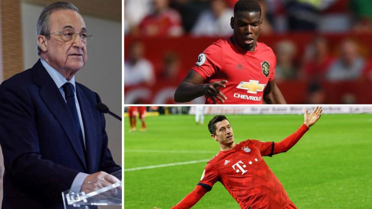 Florentino Perez: Real Madrid have tried to sign Lewandowski for years and nothing happened, just like with Pogba Real Madrid Explained failed move - Bóng Đá