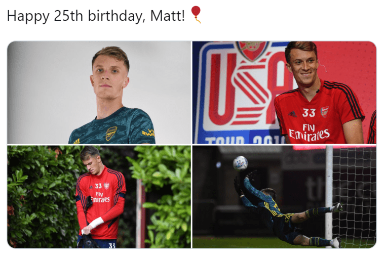 ARSENAL FANS IN SHOCK AFTER MATT MACEY TURNS 25 - Bóng Đá