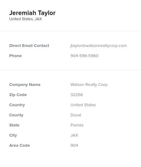 Florida Realtor Email List: Real Estate Agents