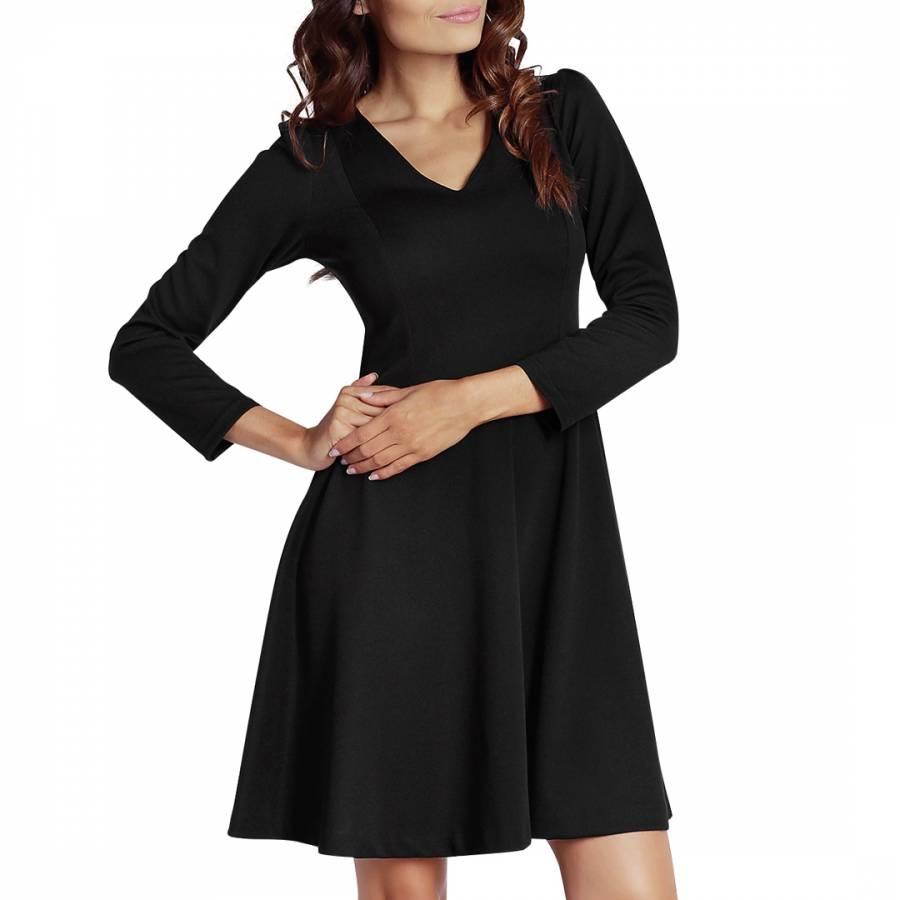 Black Fit n Flare Dress  BrandAlley