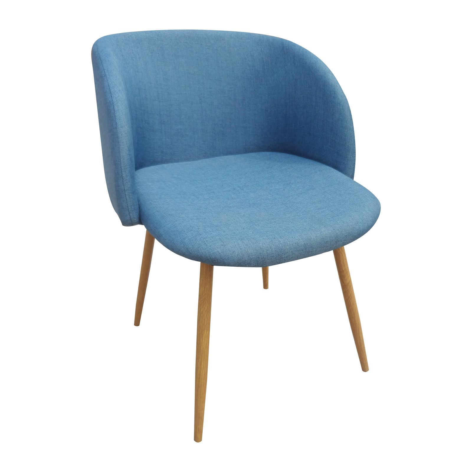 Potiron Oslo Lot De 2 Chaises Bleu BrandAlley