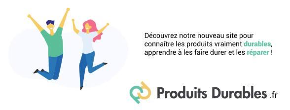Produits Durables . fr Nouveau site HOP