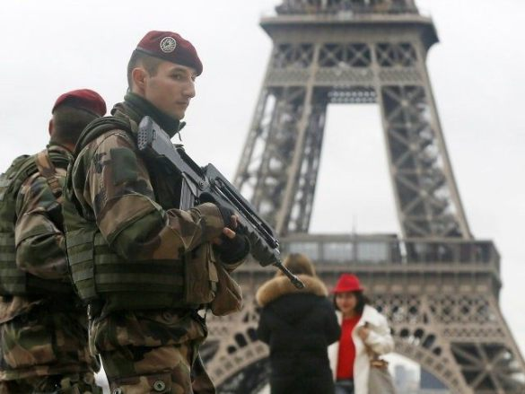 Image result for Part and Parcel: France Deploys 100,000 Soldiers and Police Officers for the Holidays