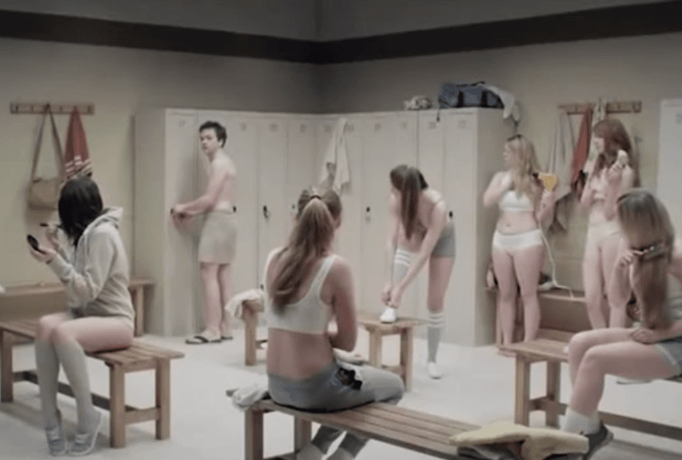 High School Girls Forced to Undress Next to Naked Boys
