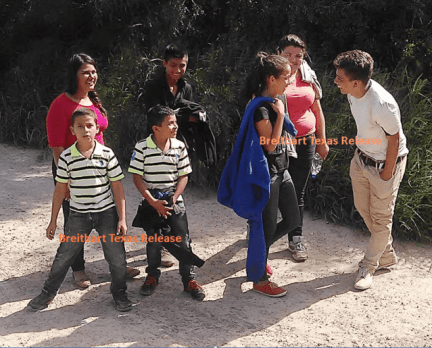 Immigrants Crossing in South Texas - 3