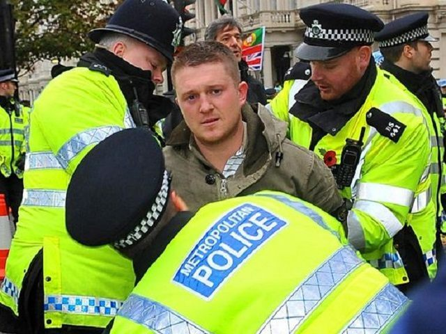 Image result for tommy robinson jailed