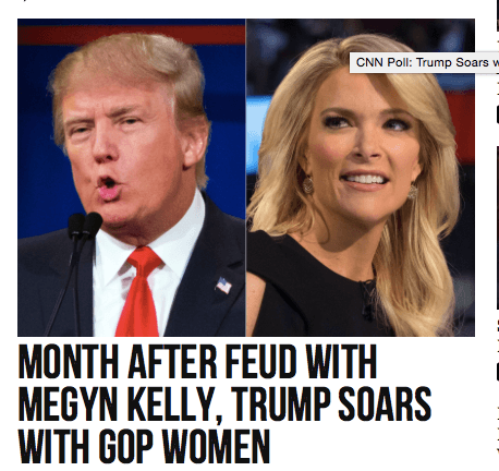 Image result for megyn kelly trump in love