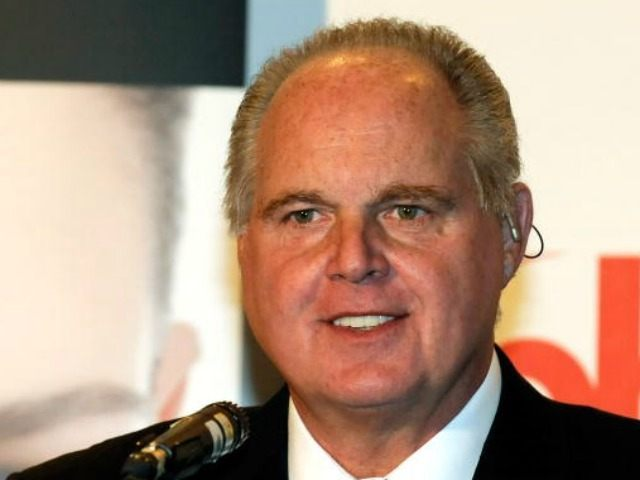 Radio talk show host and conservative commentator Rush Limbaugh, one of the judges for the 2010 Miss America Pageant, speaks during a news conference for judges at the Planet Hollywood Resort & Casino January 27, 2010 in Las Vegas, Nevada. The pageant will be held at the resort on January 30, 2010. (Photo by