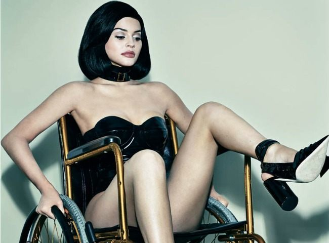 Kylie Jenner Blasted By Disabled Fans For Sexy Wheelchair