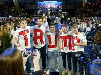 Image result for pictures of trump supporters stay awake