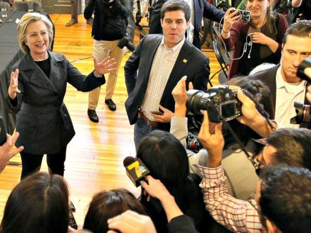 Hillary and the Media Charlie NeibergallAP