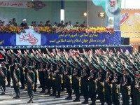 Members of Iran's elite Revolutionary Guards