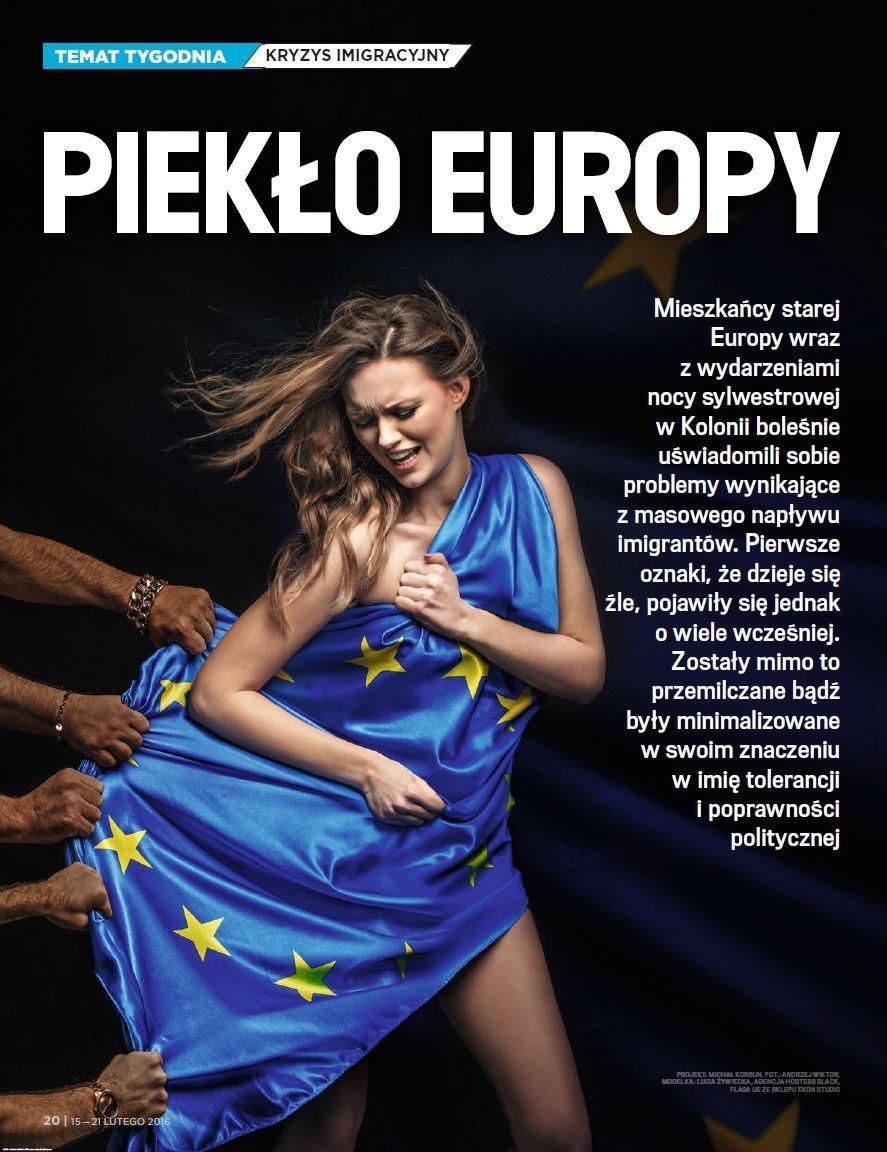 wSieci Islamic rape europe