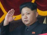 In this Oct. 10, 2015, file photo, North Korean leader Kim Jong Un gestures as he watches a military parade in Pyongyang, North Korea. North Korea said on Wednesday, Jan. 6, 2016, it has conducted a hydrogen bomb test. (AP Photo/Wong Maye-E, File)