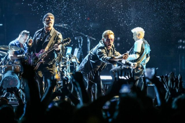 The Edge, Larry Mullen Jr., Bono, Adam Clayton U2