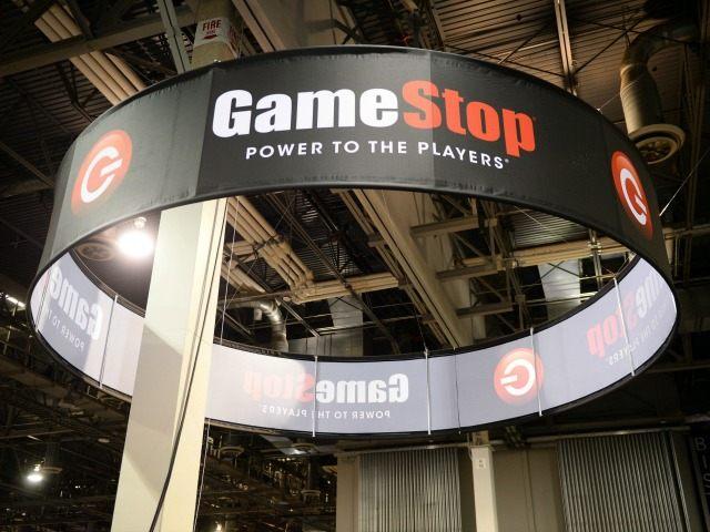 gamestop sign AP