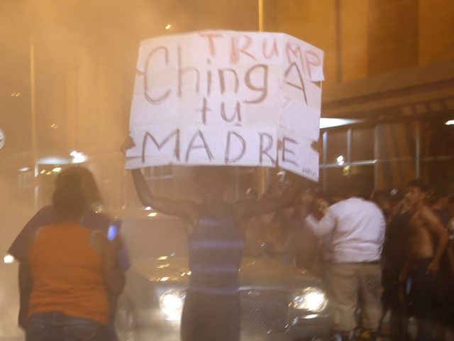 Donald Trump riot New Mexico (Brennan Linsley / Associated Press)