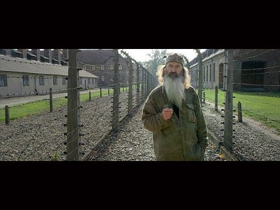 phil robertson at auschwitz